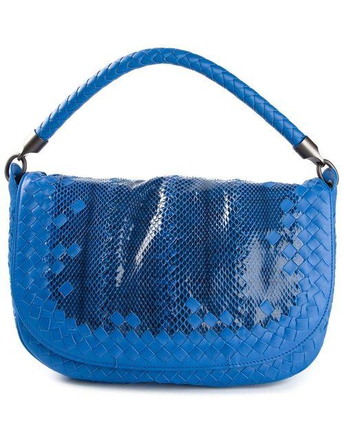 Bottega Veneta | Женское Синий Medium Intrecciato Tote