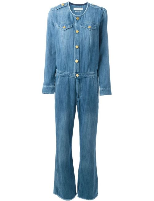 ISABEL MARANT ÉTOILE | Синий Ojima Denim Jumpsuit
