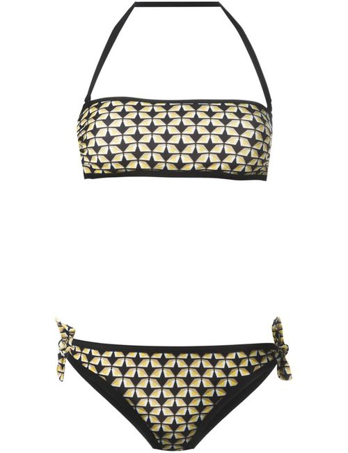 Fendi | Женское Чёрный Bag Bugs Bandeau Bikini