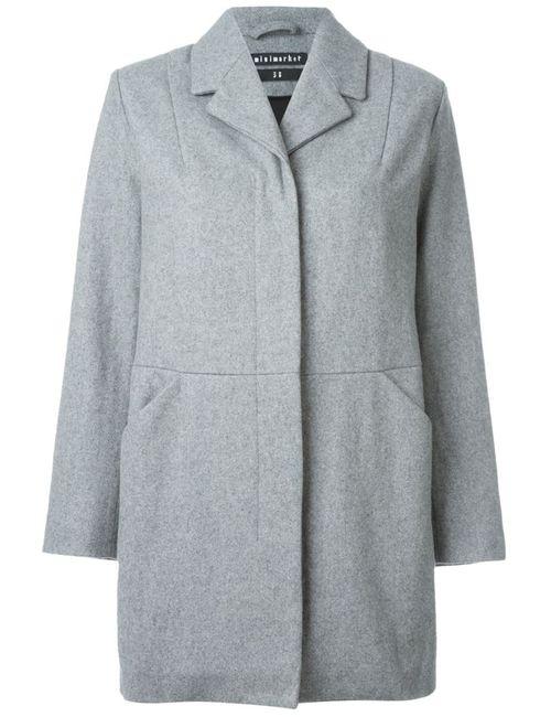 Minimarket | Женское Серое Пальто Jenny