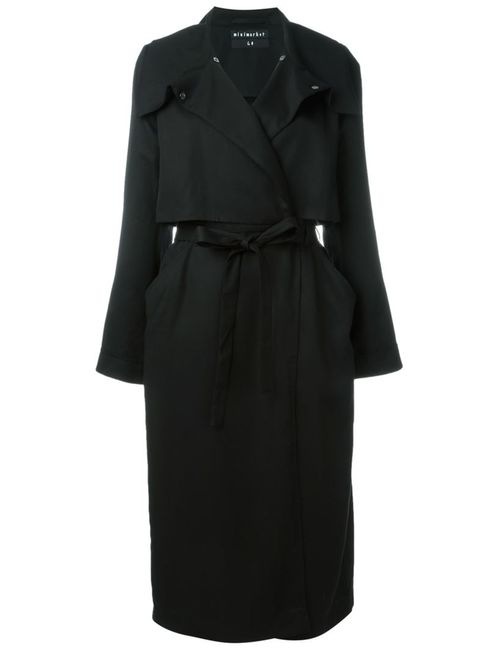 Minimarket   Женское Чёрное Пальто Tarot