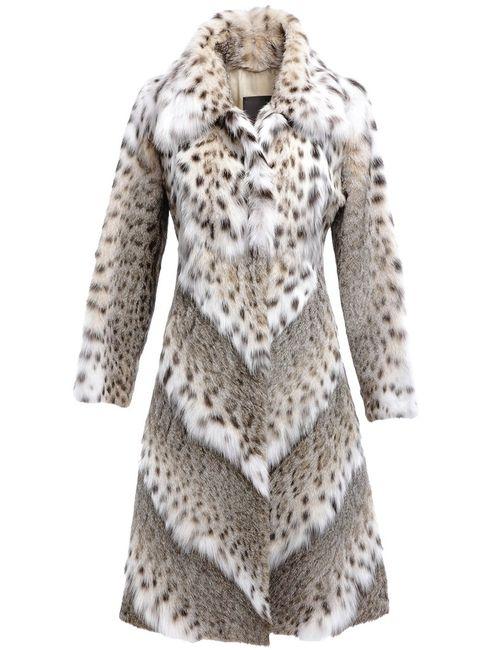 Liska | Женское Lynx Coat