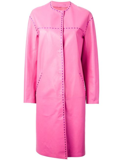 Bottega Veneta | Женское Розовый Whip-Stitched Coat