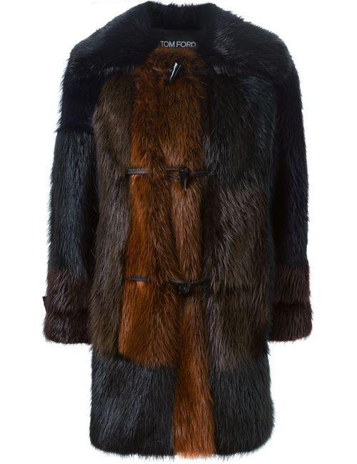Tom Ford | Женское Чёрный Paneled Coat
