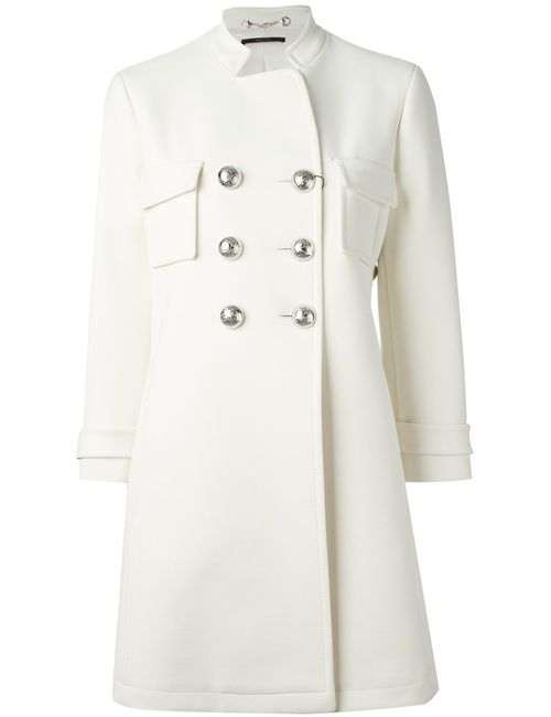 Gucci | Женское Белый Double Breasted Overcoat