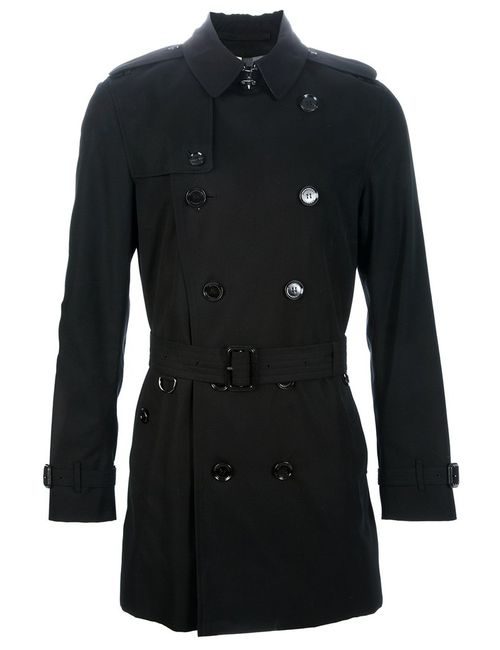 Burberry London | Мужское Чёрный Double Breasted Trench