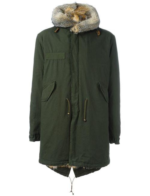MR & MRS Italy | Мужское Зелёный Fur Lined Parka