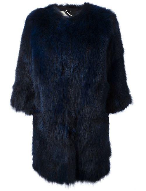 Simonetta Ravizza | Женское Синий Printed Lining Coat
