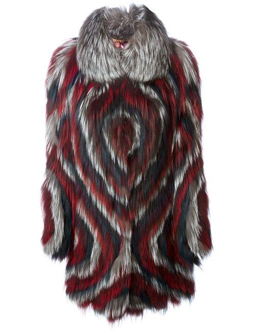 Liska   Женское Серый Circle Print Coat