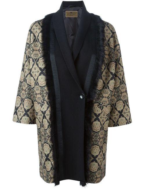 Etro | Женское Черный Trimmed Printed Coat