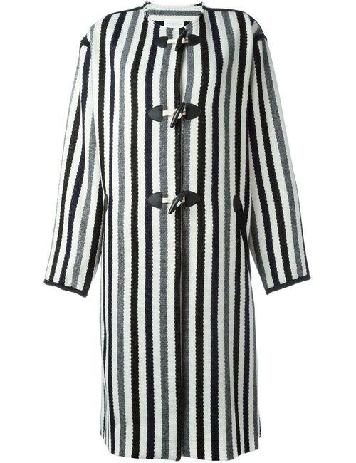 Isabel Marant Étoile | Женское Белое Полосатое Пальто
