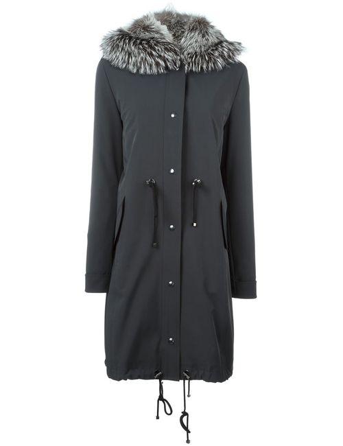 Liska | Женское Серый Fox Fur Trim Hooded Parka
