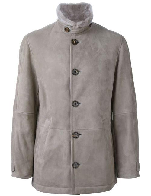 Brunello Cucinelli | Мужское Серый Buttoned Jacket