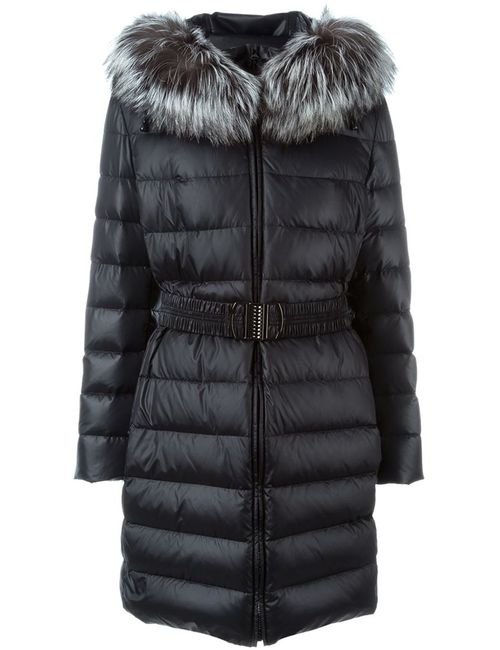 Liska | Женское Серый Trimmed Hood Padded Coat