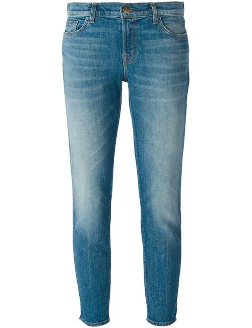 J Brand | Женское Синий Ellis Cropped Jeans