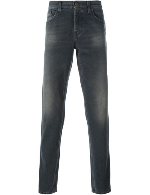 Gucci | Мужское Серый Stonewashed Straight Leg Jeans