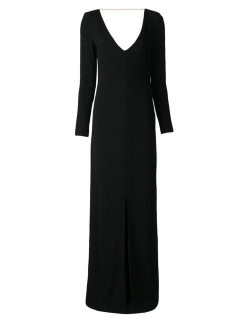 Adam Lippes | Женское Чёрный Back Chain Gown