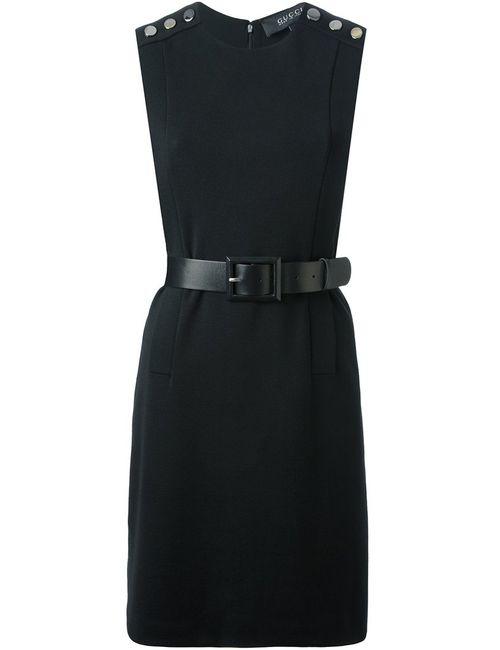 Gucci | Женское Черный Belted Dress
