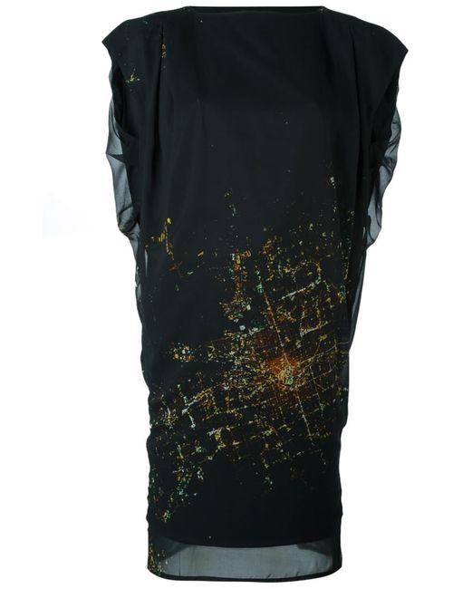 Minimarket | Женское Чёрное Платье Zany