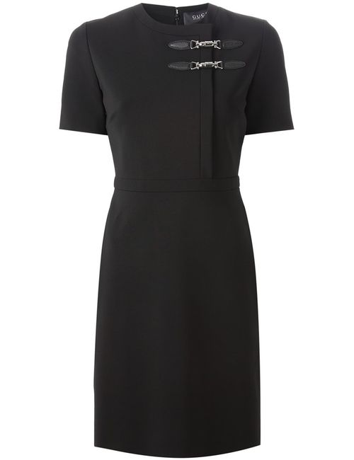 Gucci | Женское Черный Clip Fastening Shift Dress