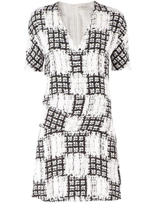 Balenciaga | Женское Черный Graphic Printed Dress