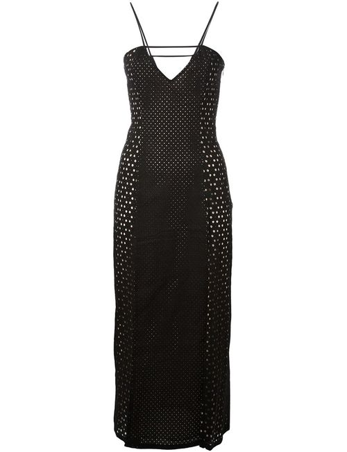 TAMARA MELLON | Женское Чёрный Side-Slit Dress