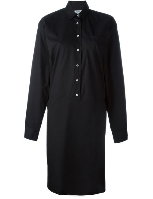 VETEMENTS | Женское Чёрный Oversized Sleeve Shirt Dress