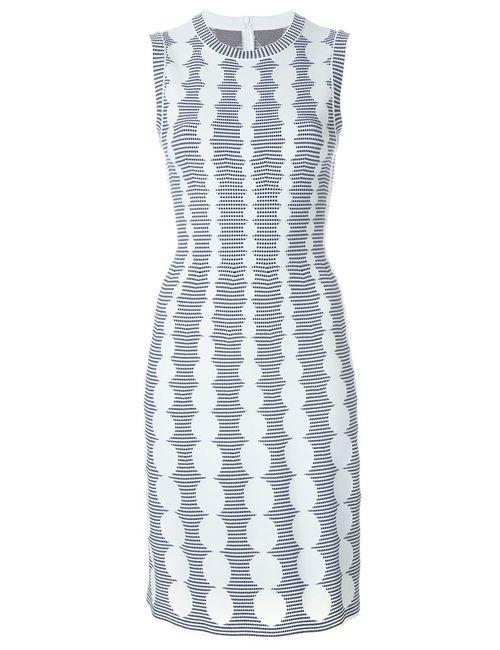 Alaïa | Женское Белый Geometric Pattern Dress