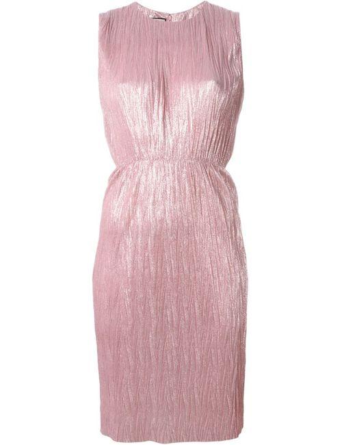 Gucci | Женское Розовый Sleeveless Pleated Dress