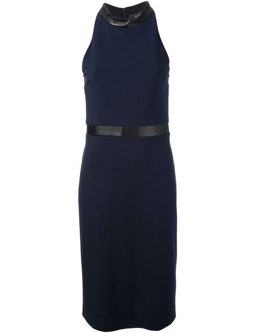 Gucci | Женское Синий Halterneck Dress