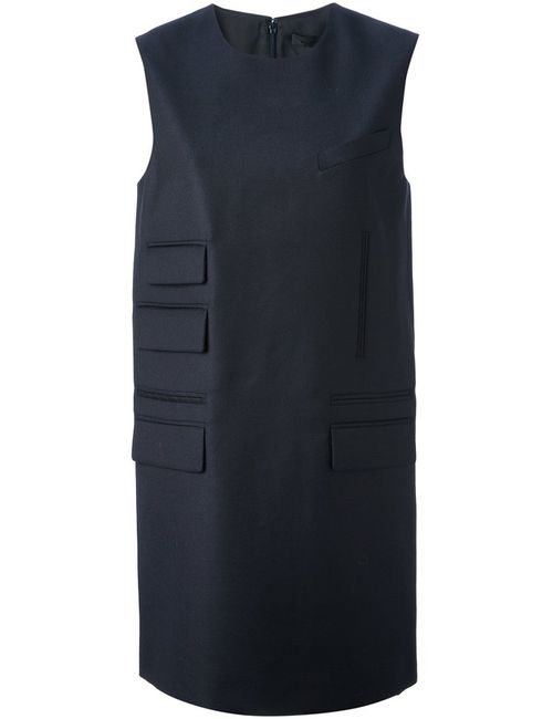 Alexander Wang | Женское Синий Flap Pocket Shift Dress