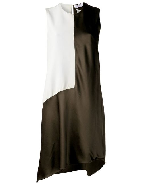 Narciso Rodriguez | Женское Зелёный Bi-Color Dress