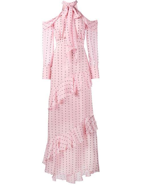 Erdem | Женское Розовый Cut-Off Shoulders Dress