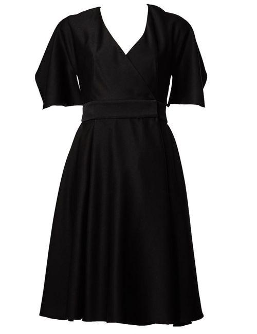 Alexander McQueen   Женское Чёрный Cut Out Back Dress