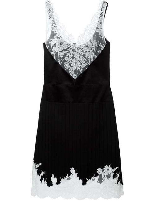 Céline   Женское Чёрный Lace Detail Evening Dress