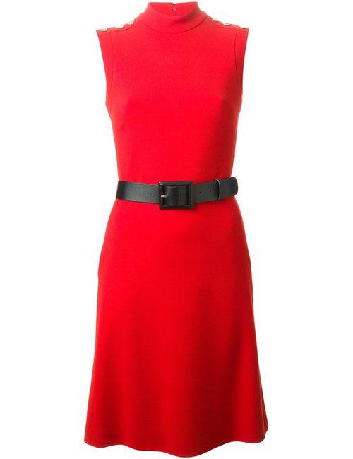 Gucci | Женское Красный Belted Dress