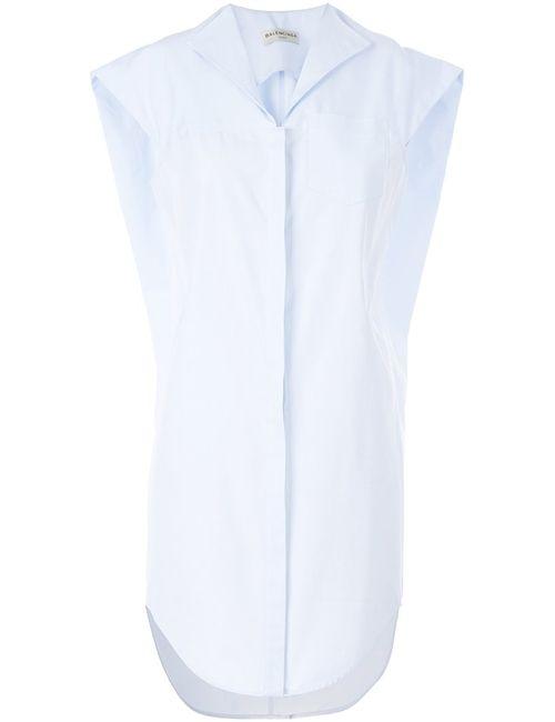 Balenciaga | Женское Синий Shirt Dress