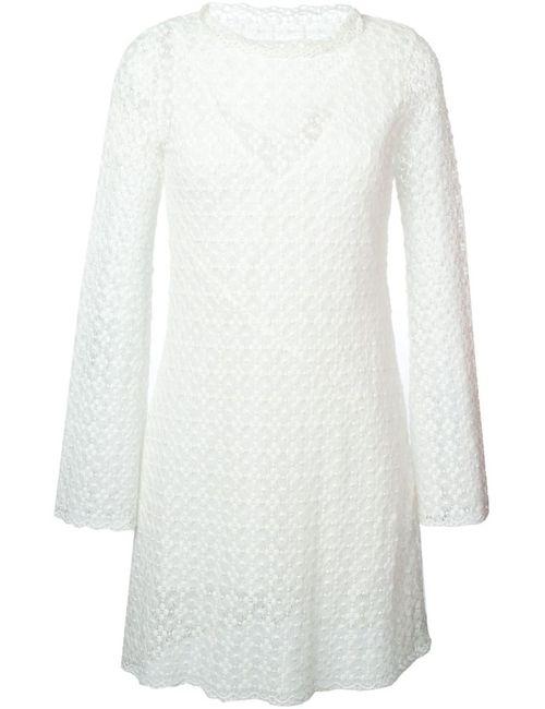 See By Chloe | Женское Белое Кружевное Платье