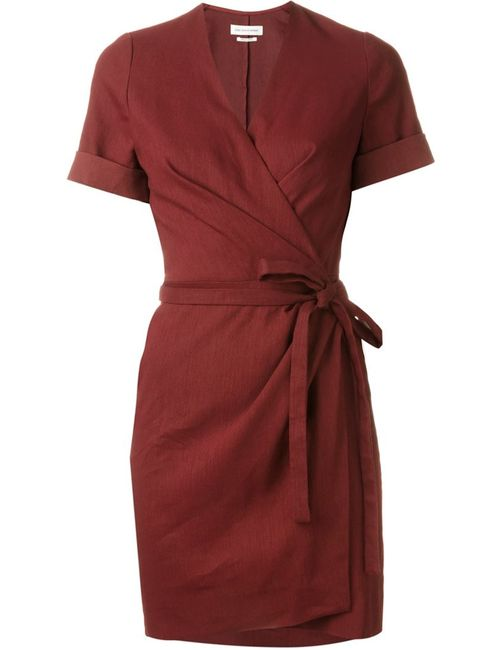 Isabel Marant Étoile | Женское Красное Платье С Запахом Kansas