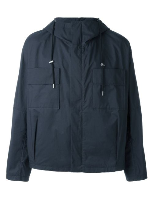 Raf Simons | Мужское Синий Chest Pocket Hooded Jacket