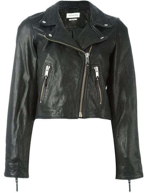 Isabel Marant Étoile   Женская Чёрная Байкерская Куртка Barry