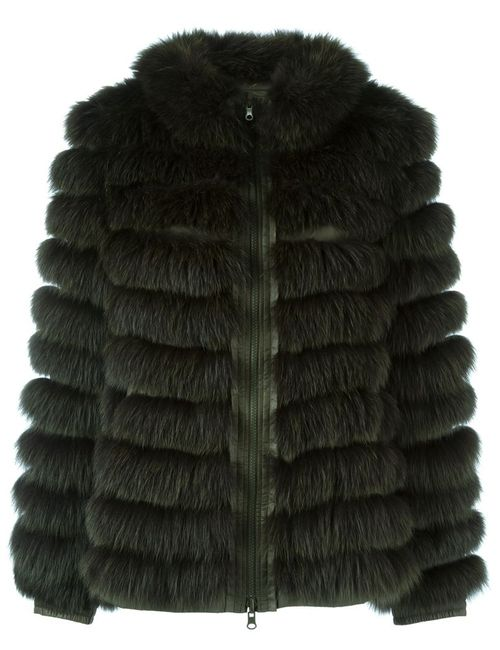 Liska | Женское Зелёный Reversible Padded Jacket