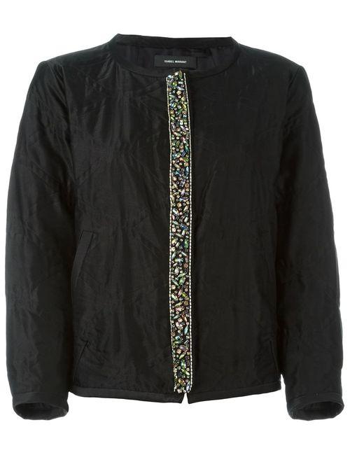 Isabel Marant | Женская Черный Декорированная Куртка-Бомбер