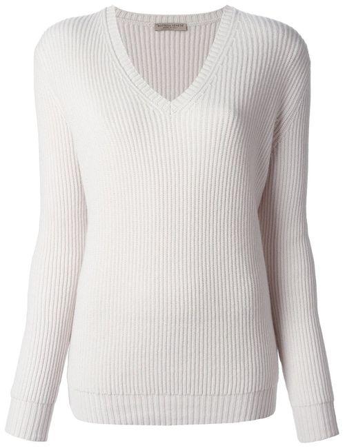 Bottega Veneta | Женское Ribbed Knit Sweater