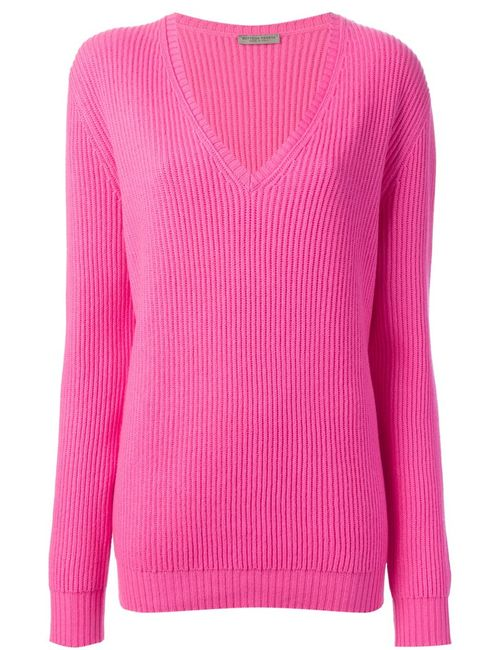 Bottega Veneta | Женское Розовый Ribbed Knit Sweater
