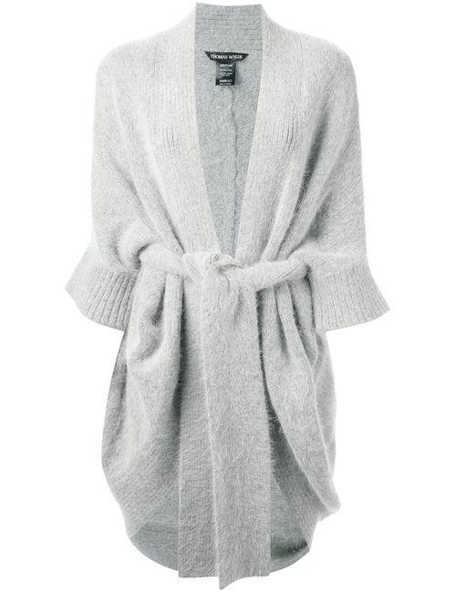Thomas Wylde | Женское Серый Tie-Front Coat