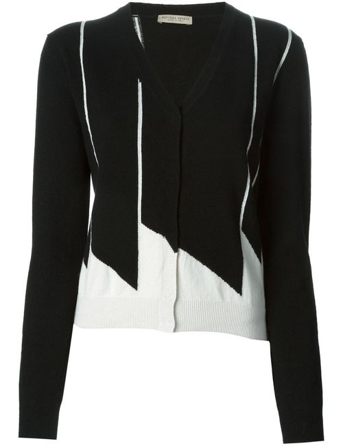 Bottega Veneta | Женское Чёрный Geometric Jacquard Cardigan