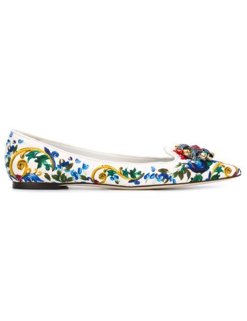 Dolce & Gabbana | Женское Многоцветное Слиперы Belluci