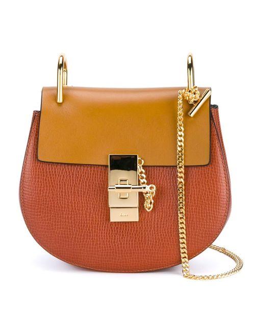 Chloe   Женское Желтый Chloé Mini Drew Shoulder Bag