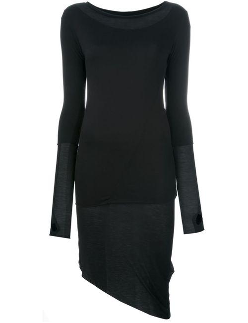 THOM KROM | Женское Черный Асимметричное Платье